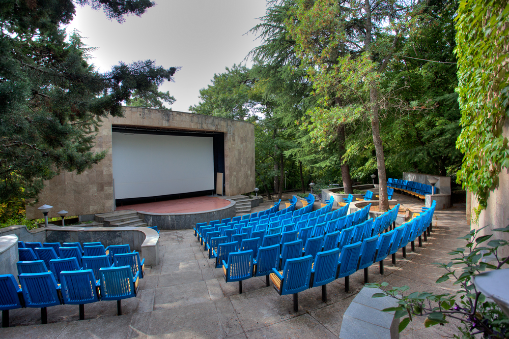 open-air cinemas
