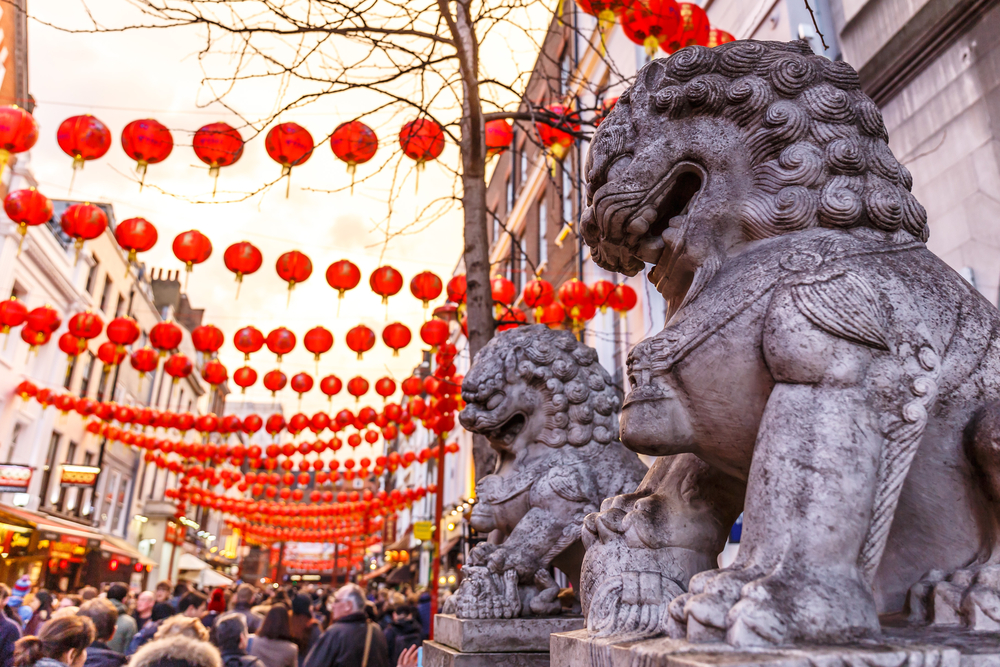 Chinese New Year in london