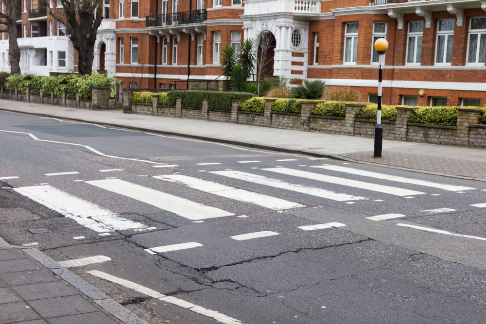Abbey Road pedestrian crossing London