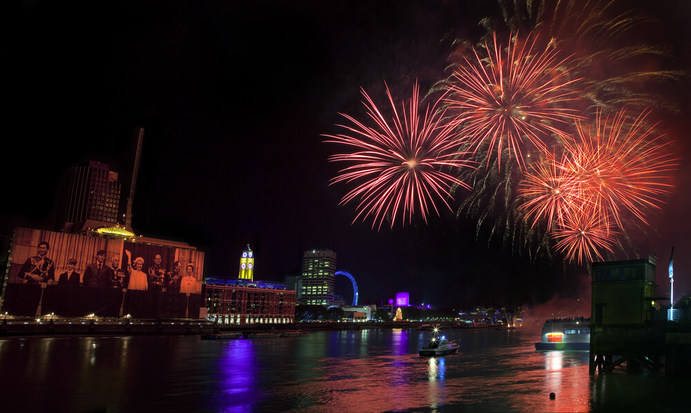 Mayor of London New Year's Eve Fireworks