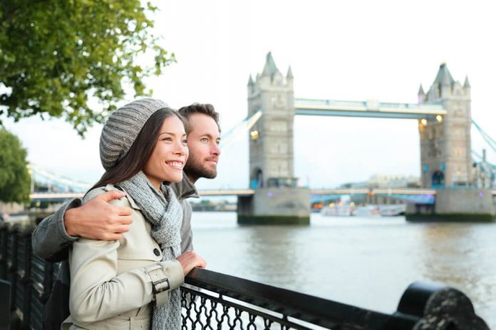couple in london
