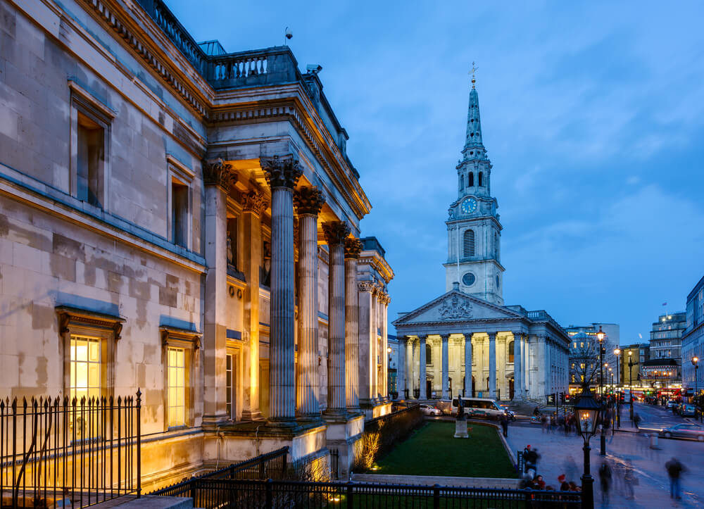 The National Portrait Gallery is an art gallery in London at St Martin's Place, off Trafalgar Square