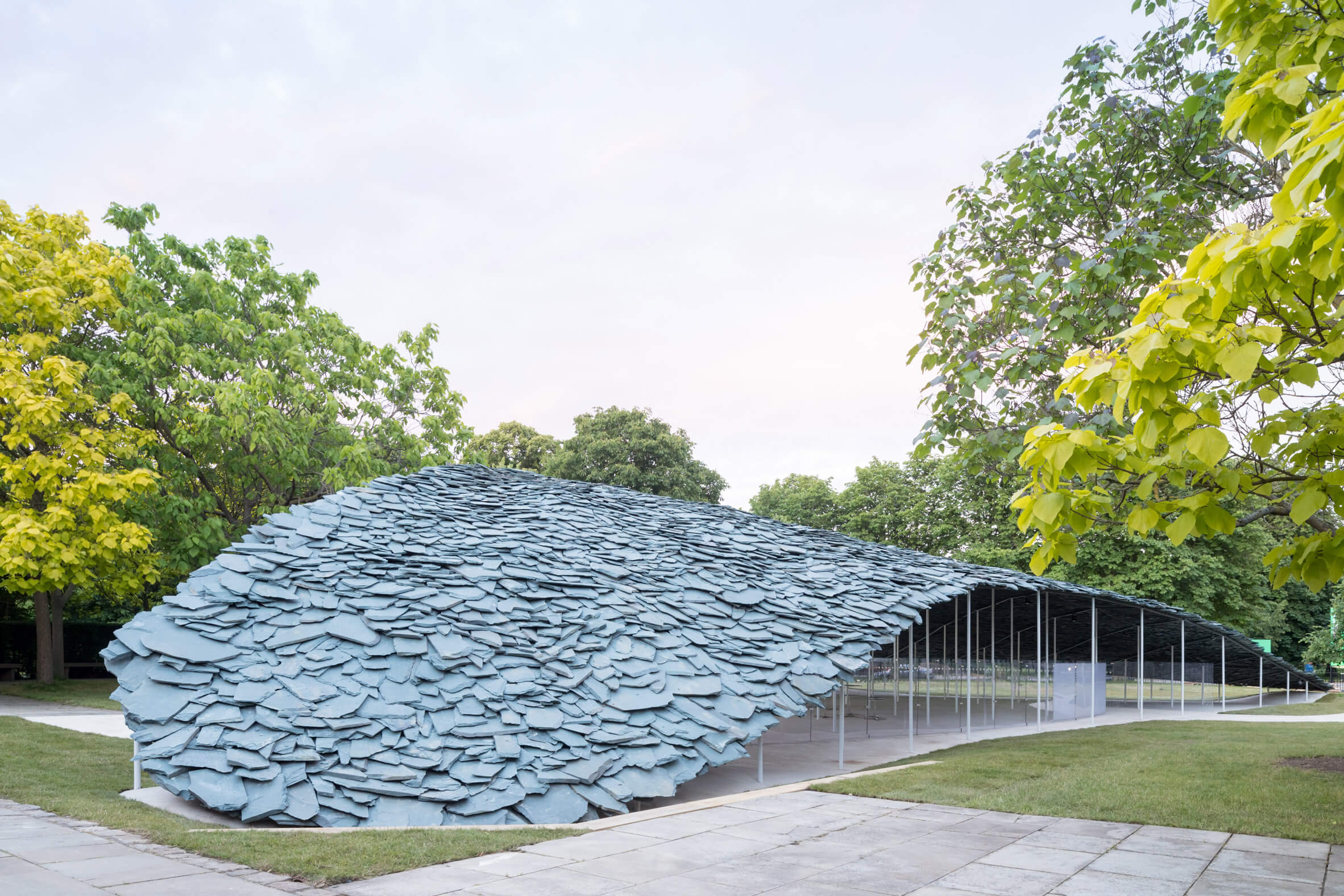 Serpentine Gallery in London's Kensington Gardens